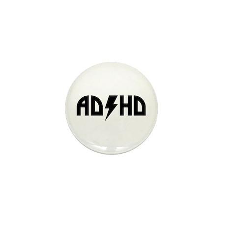 ADHD Rock Mini Button