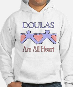 Doulas Are All Heart Hoodie
