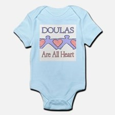 Doulas Are All Heart Infant Creeper