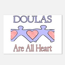 Doulas Are All Heart Postcards (Package of 8)