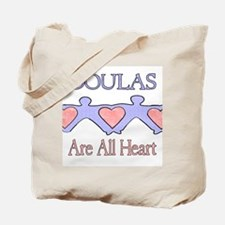 Doulas Are All Heart Tote Bag
