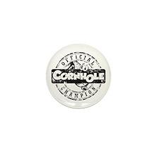 Cornhole Champion Mini Button (10 pack)