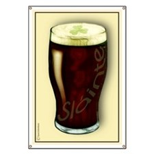 Irish Stout Slainte Banner