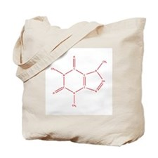 The Caffeine Molecule Tote Bag