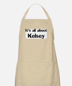 It's all about Kelsey BBQ Apron
