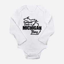 Michigan Boy Body Suit