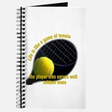 Life is like a game of tennis Journal