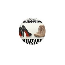 Cute Real marines wife Mini Button