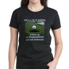 Golf is a lot of walking Tee
