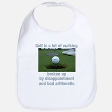 Golf is a lot of walking Bib