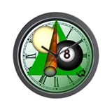 Billiard clock Wall Clocks