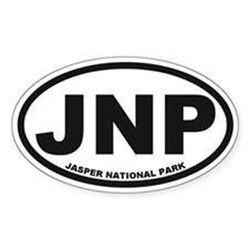 Jasper National Park Decal