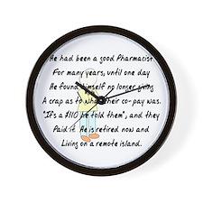 Pharmacist Story Art Wall Clock