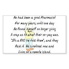 Pharmacist Story Art Decal