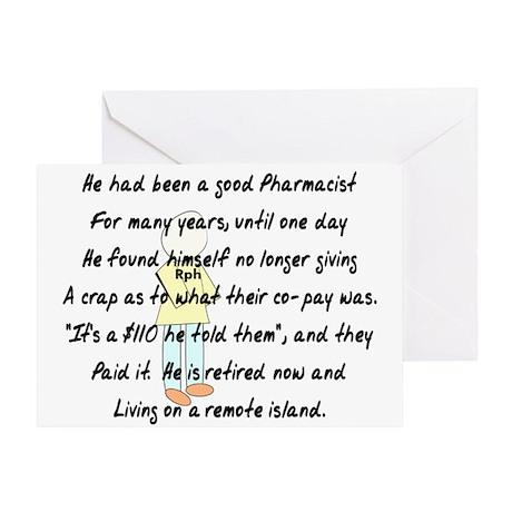 Pharmacist Story Art Greeting Card