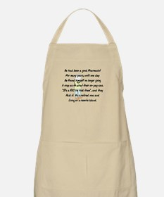 Pharmacist Story Art Apron