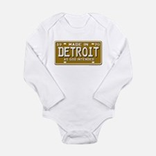 Made in Detroit Infant Creeper Body Suit