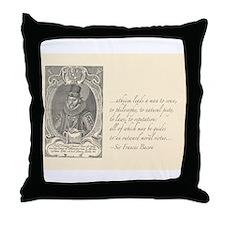 Bacon Atheism Throw Pillow
