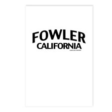 Fowler Postcards (Package of 8)