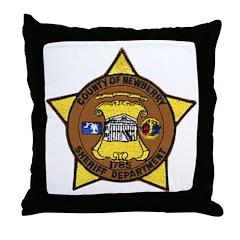 Newberry County Sheriff Throw Pillow