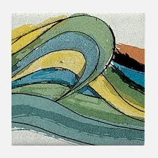 Waves by Joe Monica Tile Coaster