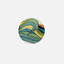 Waves by Joe Monica Mini Button