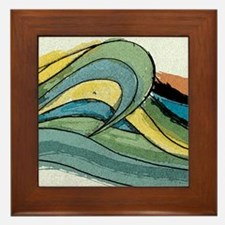 Waves by Joe Monica Framed Tile