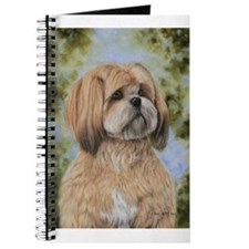 Lhasa Apso by Dawn Secord Journal