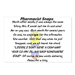 Pharmacist Story Art Postcards (Package of 8)