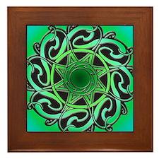 CELTIC KNOTWORK Framed Tile