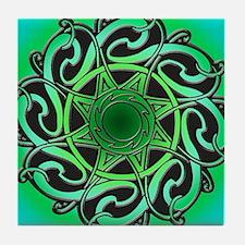 CELTIC KNOTWORK Tile Coaster