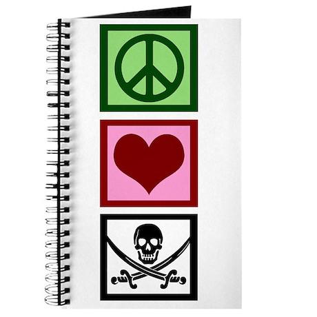 Peace Love Pirates Journal