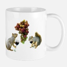 Squirrels Wine Tasting Mug