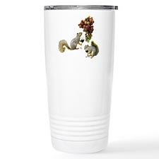 Squirrel with Wine Travel Mug