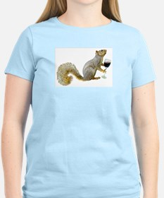 Squirrel with Wine T-Shirt