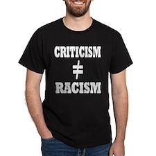 black shirt criticism T-Shirt