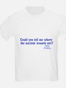 Star Trek Chekov Nuclear Wessels T-Shirt