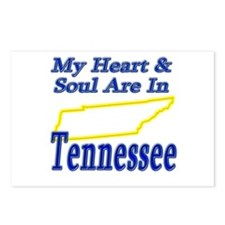 Heart & Soul - Tennessee Postcards (Package of 8)