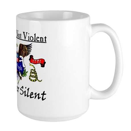No Longer Silent! Large Mug