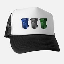 Cute Trash truck Trucker Hat