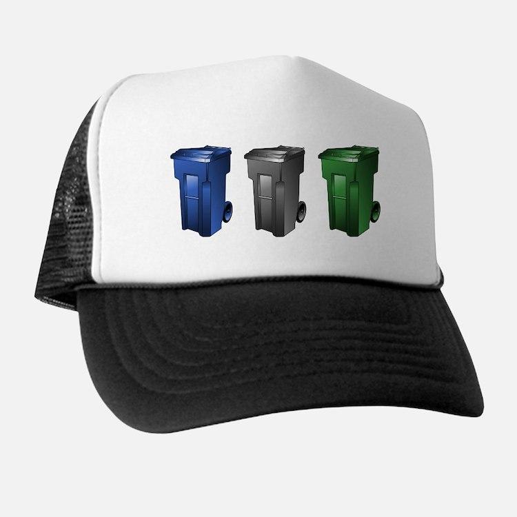 Cute Garbage trucks Trucker Hat