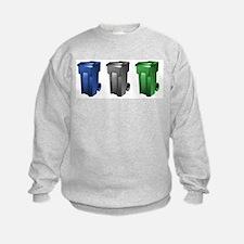 Cool Green and black Sweatshirt