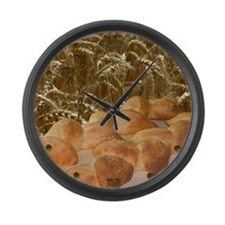 Artisan Bread Large Wall Clock