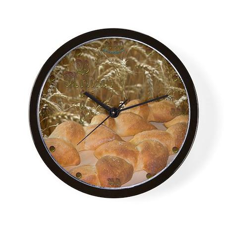 Artisan Bread Wall Clock