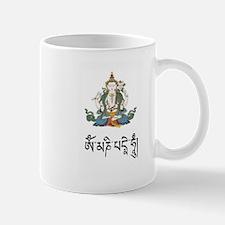 Chenrizig w/mantra Mug