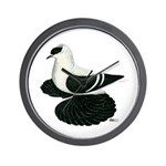Swallow Saxon Fullhead Pigeon Wall Clock