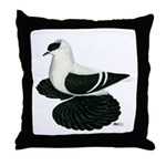 Swallow Saxon Fullhead Pigeon Throw Pillow