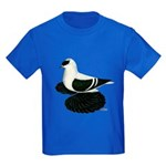 Swallow Saxon Fullhead Pigeon Kids Dark T-Shirt