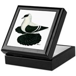Swallow Saxon Fullhead Pigeon Keepsake Box