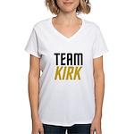 Team Kirk Women's V-Neck T-Shirt